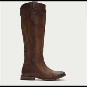 Frye Paige Tall Leather Riding Boots